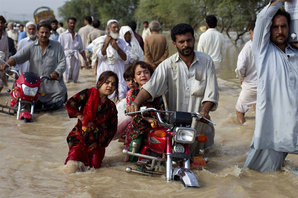 Inundations in Pakistan